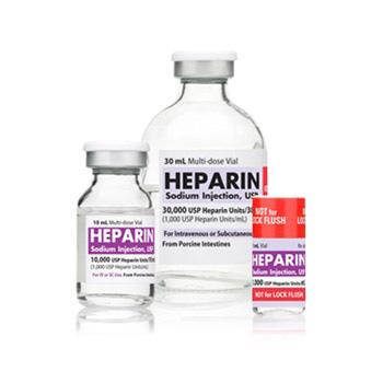 Heparin recall Hospira