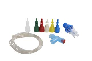 The Kruuse oxygen accessory kit that you also need with the oxygen cage