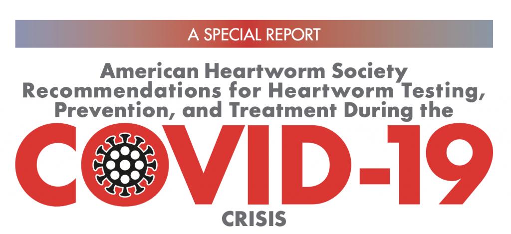 American Heartworm Society COVID19