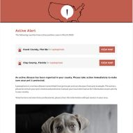 Get pet disease alerts on infectious canine leptospirosis!