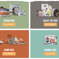 The best cat gift box ever!